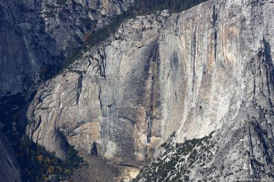 The Dried Out Yosemite Falls