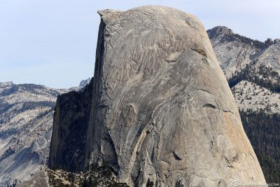 The Half Dome Rock Formation