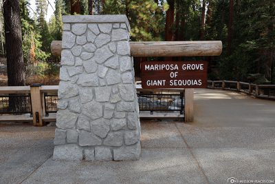 Entrance to Mariposa Grove