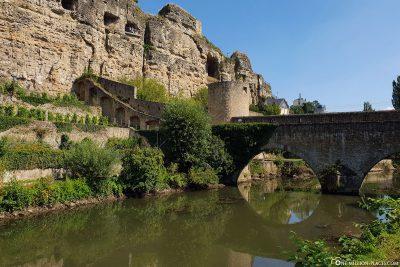 Die Stierchen Brücke und die Kasematten