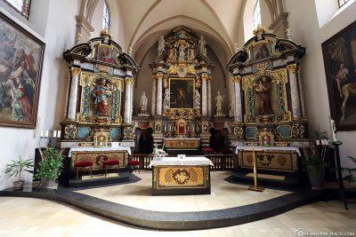 Die St. Johann Kirche