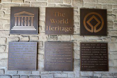 Seit 1994 auf der Liste des Welterbes der UNESCO