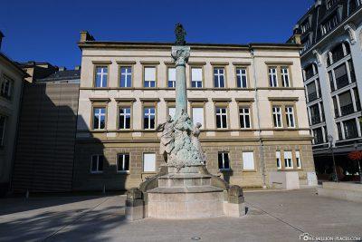 Das Dicks-Lentz-Denkmal