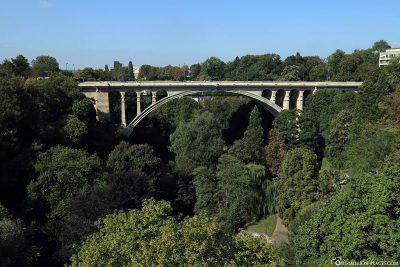 Die Adolphe-Brücke