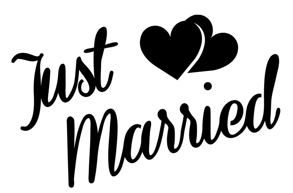 Just Married, Logo