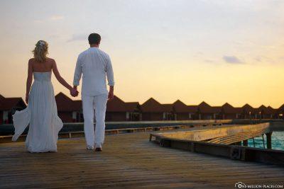 Fotoshooting nach der Hochzeit
