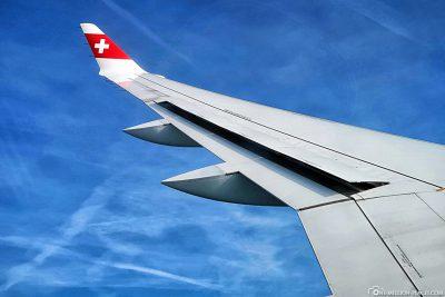 Flug mit Edelweiss auf die Malediven