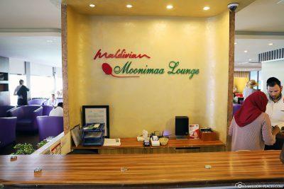 Die Moonimaa Lounge am Domestic Terminal
