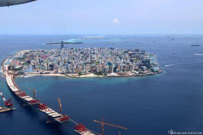 The capital Malé