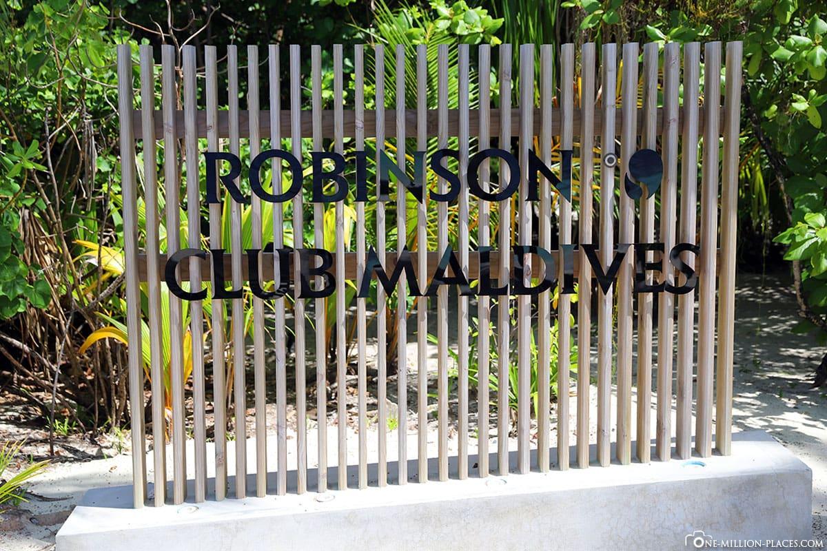 Shield, Robinson Club Maldives, Maldives, Travelreport