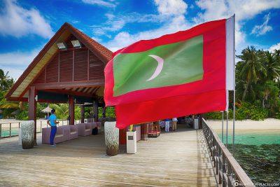 Maledivische Flagge