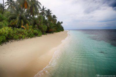 Schöner Strandabschnitt