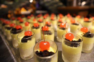 Liebevoll zubereitetes Dessert