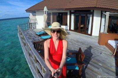 Selfie on the terrace