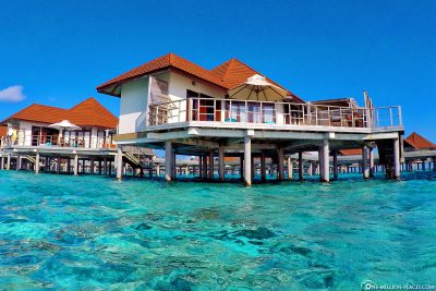 Our Overwater Bungalow in the Lagoon