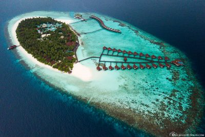 The Robinson Club in the Maldives