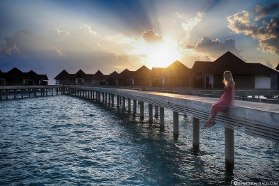 Sundowner at ROBINSON Club Maldives
