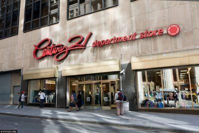 Century 21 Department Store New York