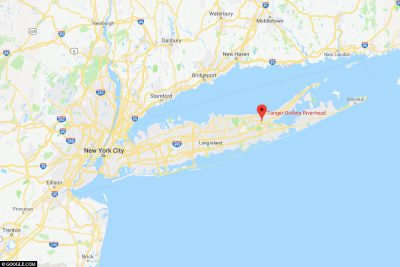 The location of Tanger Outlets Riverhead
