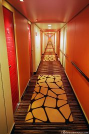 Hallway on Deck 8