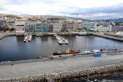 The port of Trondheim