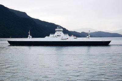 The ferry Sykkylven - Magerholm