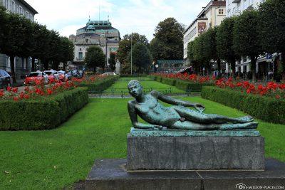 Statue in Bergen