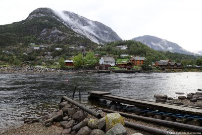 The landscape of Eidfjord