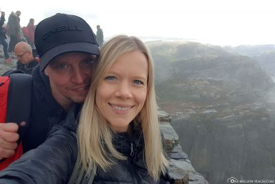 We at Preikestolen