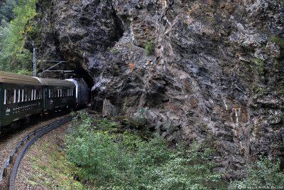Tunnel of the Flams Railway