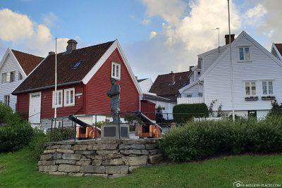 Statue von Thore Horve