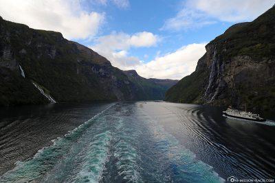 Der Geirangerfjord gehört seit 2005 zum UNESCO-Weltnaturerbe