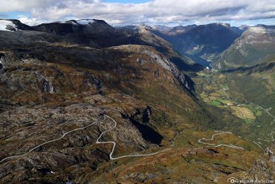 Ausblick aus 1.476 Metern Höhe