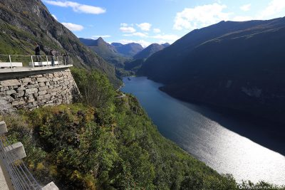 Der Geirangerfjord gehört seit 2005 zum UNESCO Weltnaturerbe