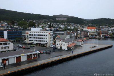 Der Hafen von Molde