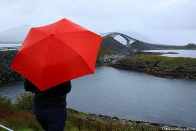 Blick auf die Storseisund-Brücke