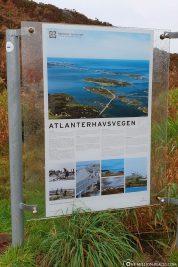 The Atlantic Road between Molde and Kristiansund