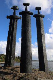 Das Denkmal Schwerter im Berg