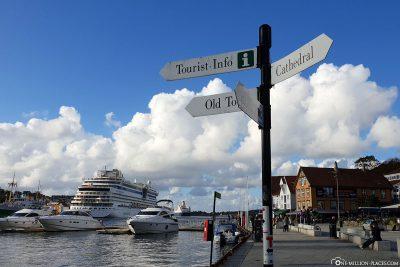 Der Hafen in Stavanger