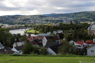 View over Trondheim