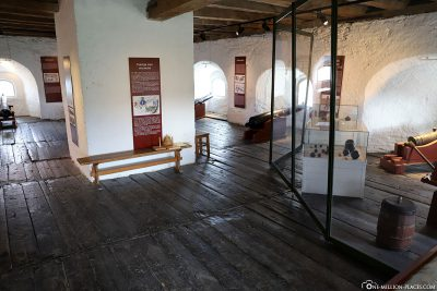 The museum in the fortress Kristiansten
