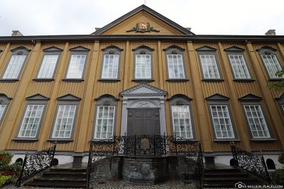 Stiftsgérden, one of the largest wooden buildings in Scandinavia