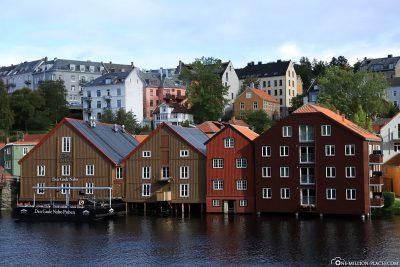 Trondheims Speicherstadt