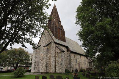 The Vangskyrkja Church in Voss