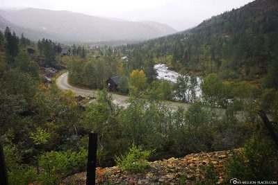 The train ride from Voss to Myrdal