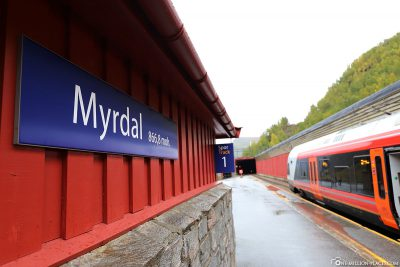 The train station in Myrdal