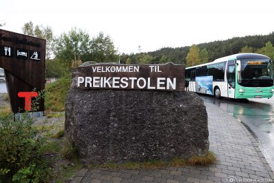 """Der Parkplatz """"Pulpit Rock Parking"""""""
