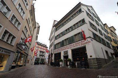 Die Altstadt von Zürich