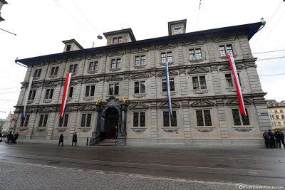 Das Rathaus in Zürich