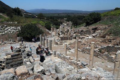The Odeon Theater in Ephesus